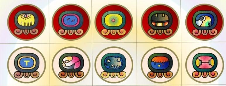Maya nahuales Viatori
